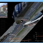 Geschwindigkeit und Beschleunigung des Fahrzeugs können visualisiert werden.