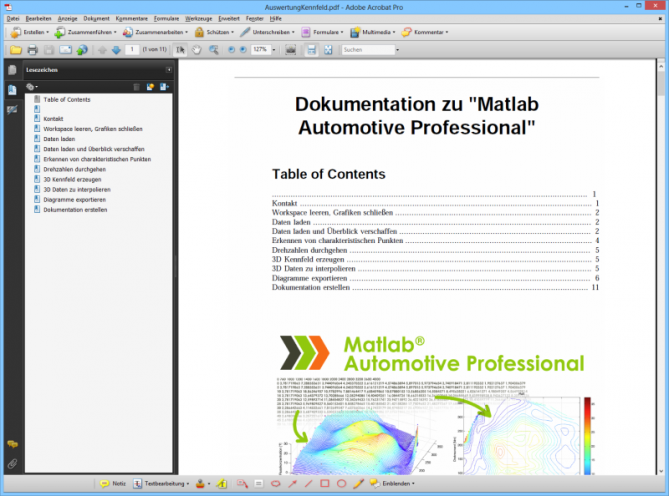 Matlab-Automotive-Professional-Doku