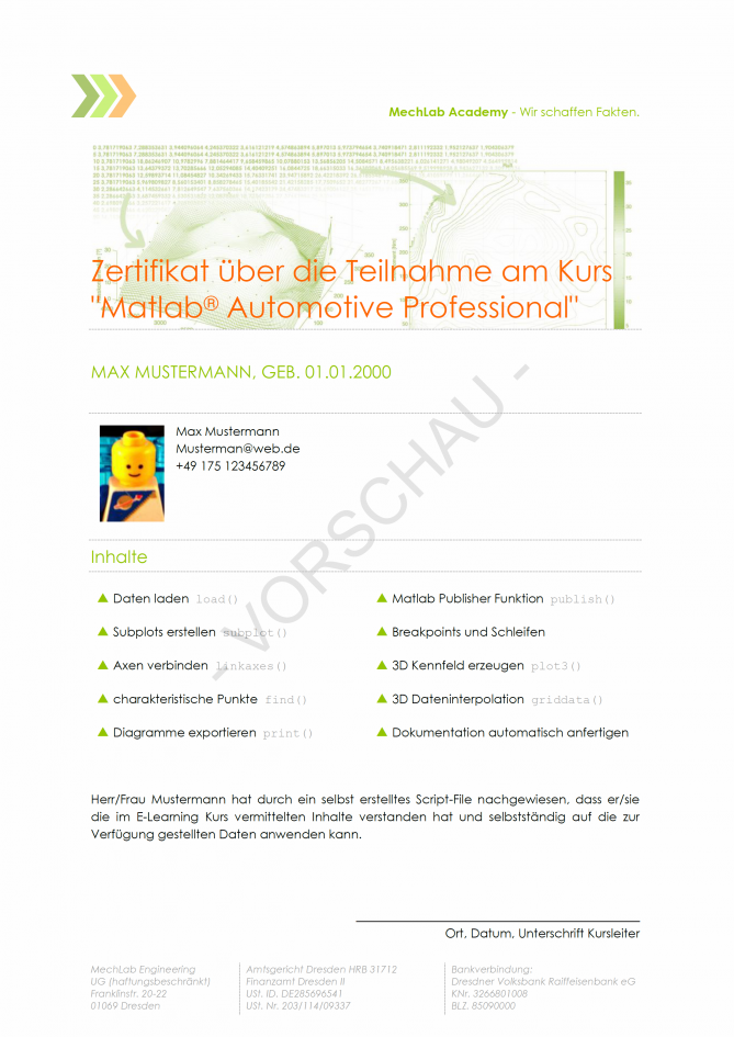 Zertifikat-Matlab-Automotive-Professional-Vorschau