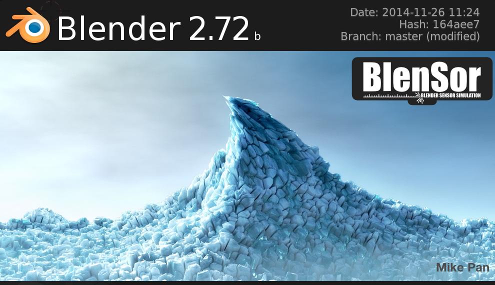 BlenSor-Blender-2.72b