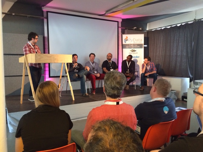 Podium Discussion at PyData Berlin 2015