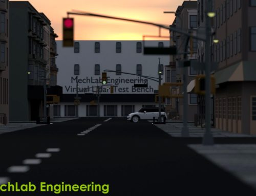 Virtual Lidar Test Bench